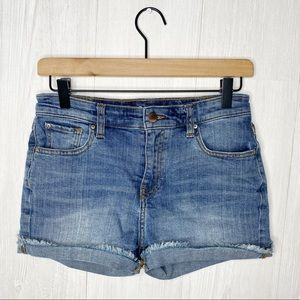 GAP factory | High Rise Cut Off Short Sz. 0/25